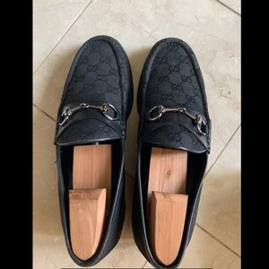 Authentic Gucci GG Monogram Loafers